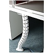Vertical Cable Manager - White