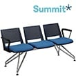 Summit Versit Beam Seating With Upholstered Chairs