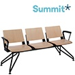 Summit Versit Beam Seating With Wooden Seats