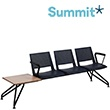 Summit Versit Beam Seating With Polypropylene Chairs and Table
