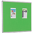 Accents FlameShield Aluminium Framed Noticeboard