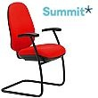Summit Tiverton High Back Cantilever Visitor Chair