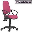Pledge Topaz Lite High Back Operator Chair