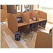 Panel Ended Study Carrels
