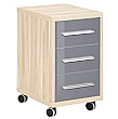 Famosa 3 Drawer Mobile Pedestal