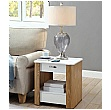 Pacific Side Table With Smart Charging