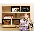 Elegant 8 Compartment Classroom Storage Unit