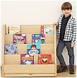 Elegant Low Classroom Book Storage Unit