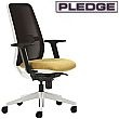 Pledge Eclipse Mesh Back Visitor Chair
