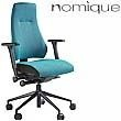 Nomique Rheo Compact High Back 24 Hour Ergonomic Operator Chair