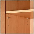 NEXT DAY Karbon Desk High Office Cupboard
