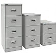 NEXT DAY Silverline Kontrax Filing Cabinets