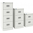 Silverline Kontrax Filing Cabinets Traffic White