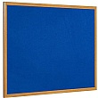 Bi-Office Oak Framed Felt Notice Boards