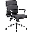 Venice Medium Back Bonded Leather Manager Chair