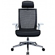 Traction Executive Leather and Mesh Task Chairs