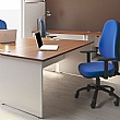 NEXT DAY InterAct Two Tone Rectangular Panel End Compact Desks