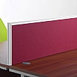 Collab Fabric Screens For Single Desks