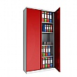 Phoenix SCL Series Steel Storage Cupboards - 2 Door 4 Shelf With Key Lock