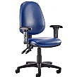 Kirby High Back Operator Chair Lexaire Vinyl