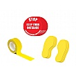 Safe Distance Floor Markers for Social Distancing Kit A - Text: STOP Keep Your Distance