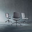Boss Design Trinetic Task Chair With Upholstered Seat