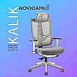 Novigami Kalik Grey Mesh Back Office Chair