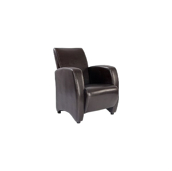 Norfolk Leather Look Armchair