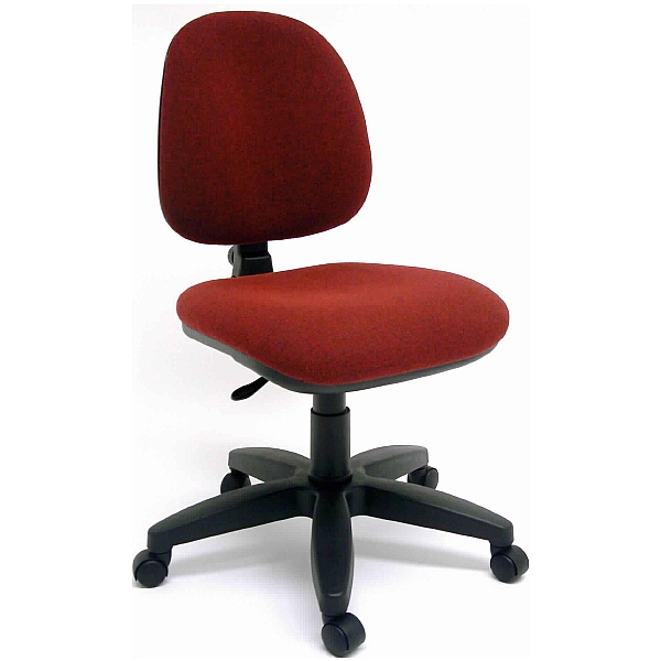 Rhino Burgundy Medium Back Operator Chair