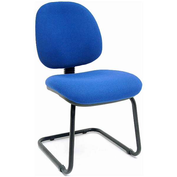 Rhino Blue Visitor Chair