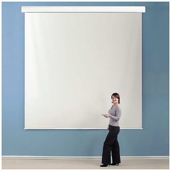 Electrically Operated Large Projection Screens