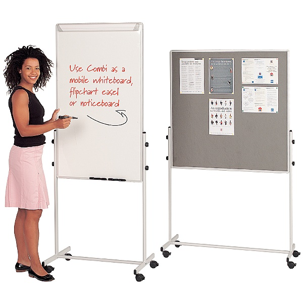 Combi Mobile Noticeboards