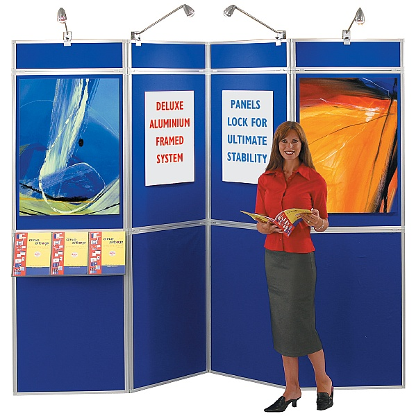 Busyfold® Heavy Duty Folding Display System