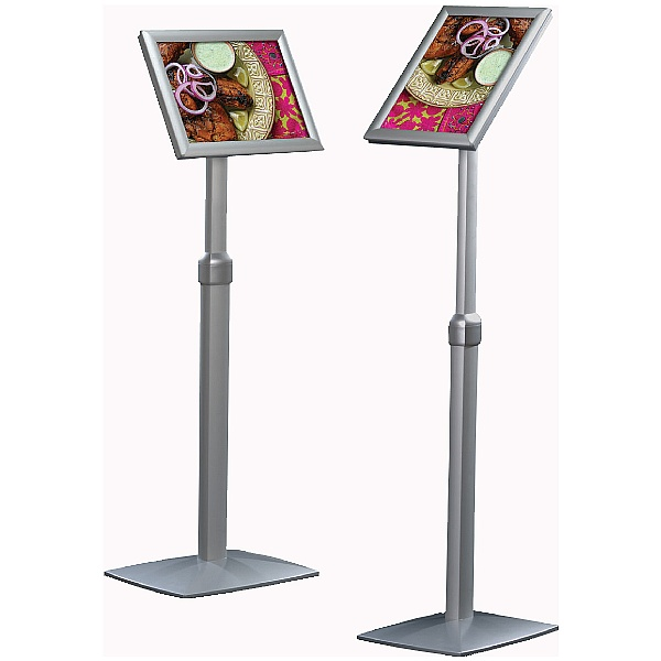Busygrip® Height Adjustable Information Stands