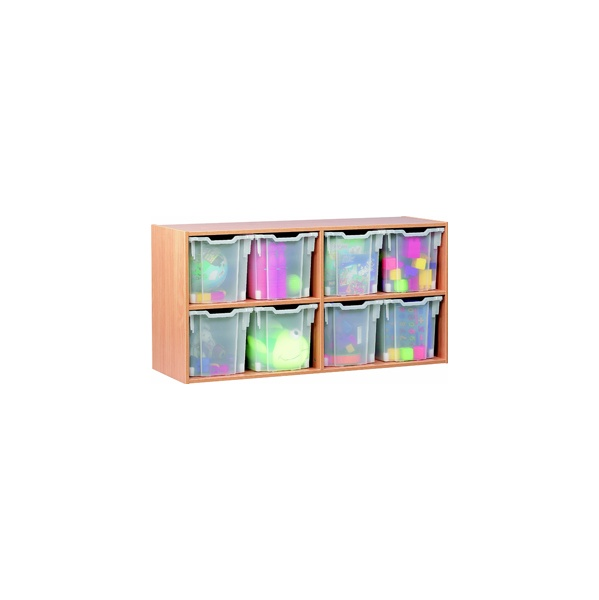 8 Tray Jumbo Static Storage