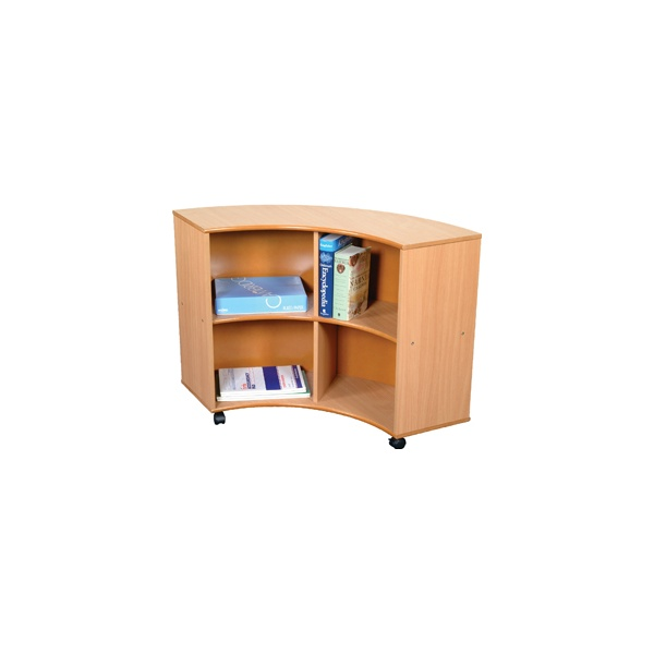 Curve Out Unit Beech