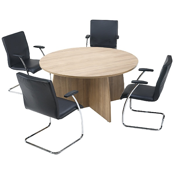 Trilogy Round Panel End Boardroom Tables