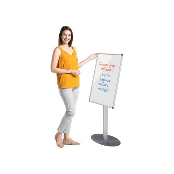 Freestanding Aluminium Frame Shield Whiteboard