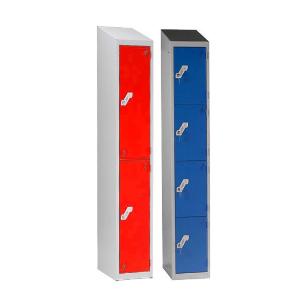 Sloping Top Heavy Duty Lockers