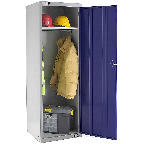 Large Volume Police Lockers With Biocote