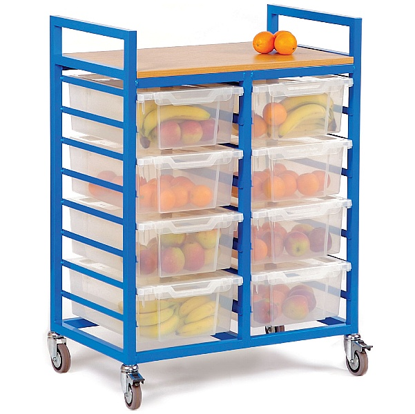 Fruit Trolley With Deep Trays