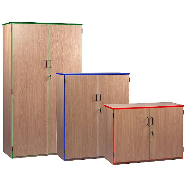 Coloured Edge Cupboards