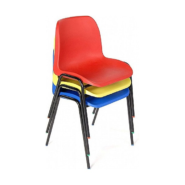 Lumbar Poly Canteen Chair