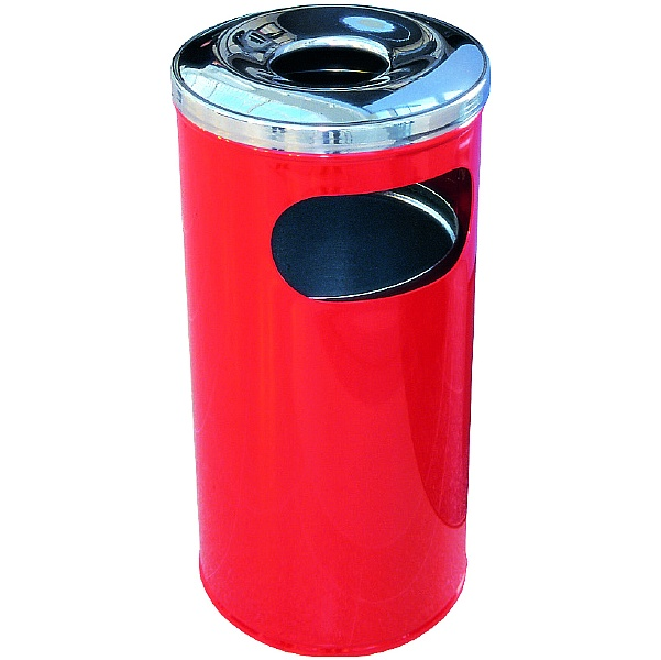 2 Part Ash / Litter Bin - 37 Litre
