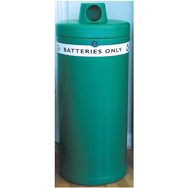 Battery Recycling Bin 'Batteries Only'