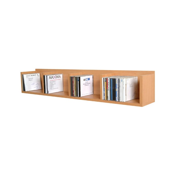 Wall Media Storage Unit