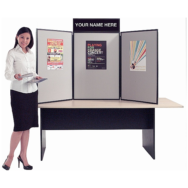Busyfold Light XL Tabletop Folding Display Systems