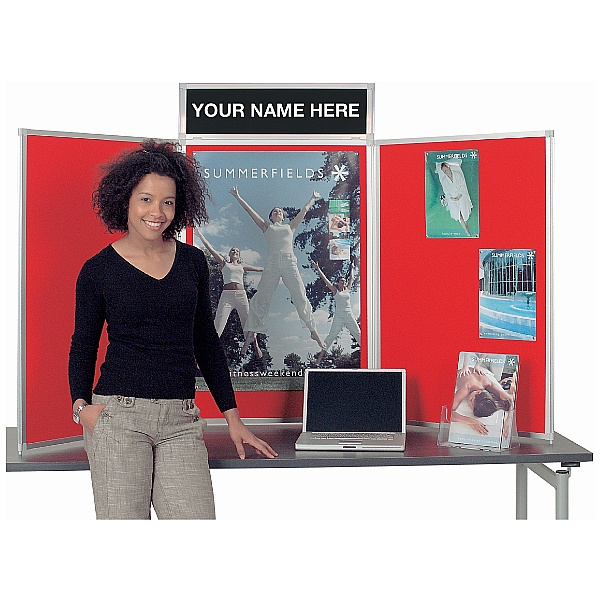 Busyfold Heavy Duty Tabletop Folding Display Syste