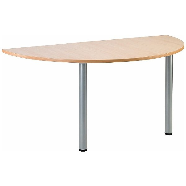 Gravity Arc Meeting Table Round Legs