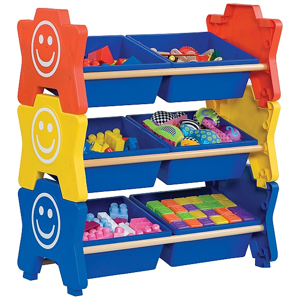 HappyStack® Treble Storage Units